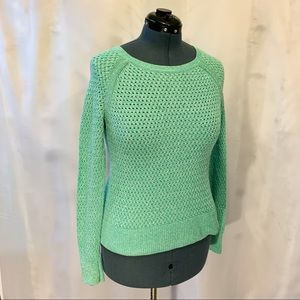 American Eagle Sea Foam Green Sweater
